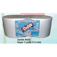 Χαρτί Ρολό 5 Kgr Α' Ποιότητας (βιομηχανικό)
