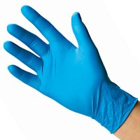 Gloves LATEX BLUE (No. S, M, L, XL)